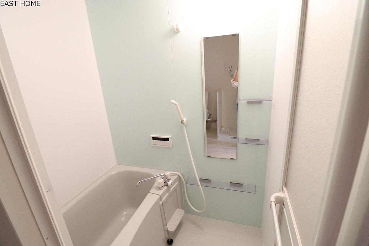 バストイレ別ですので、お風呂もゆっくりはいれます!