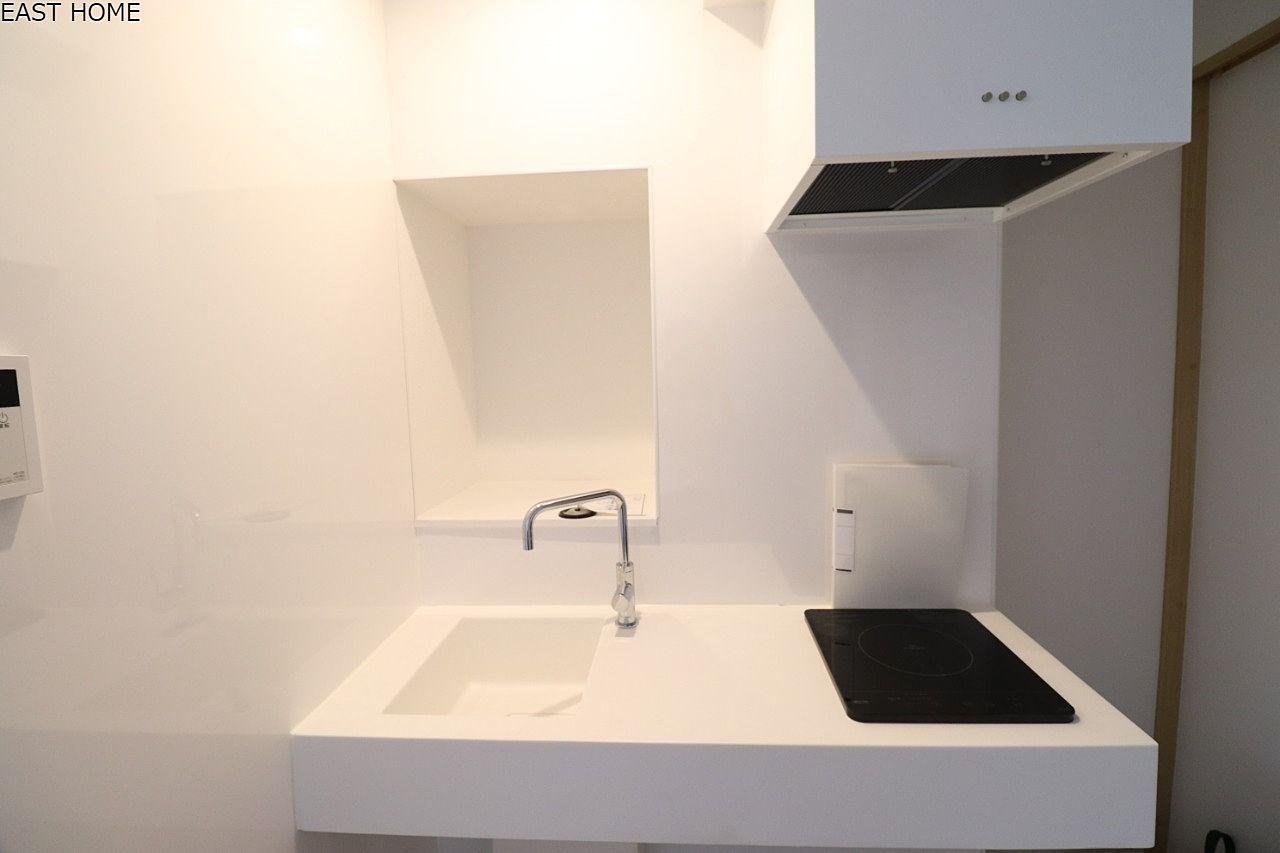 デザイン性の高いキッチンですのでお料理も楽しくなりますね!