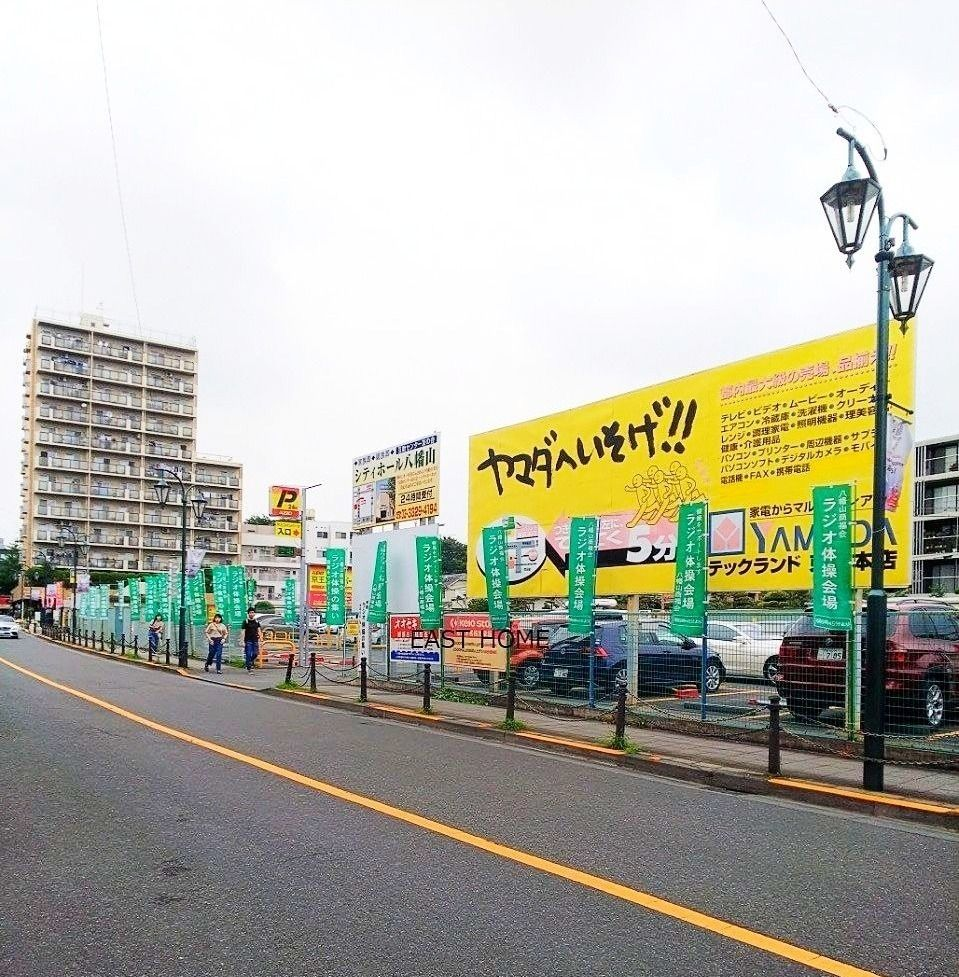 7月29日から行われる八幡山商店街ラジオ体操の会場です